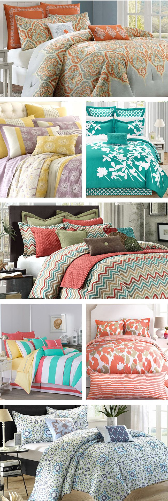 We spend a lot of time sleeping, so it's important to invest in a bedding set that is appropriate for different temperatures throughout the seasons. Besides considerations like thread count, make sure you think about the fun stuff like colors and patterns. Visit Wayfair and sign up today to get access to exclusive deals everyday up to 70% off. Free shipping on all orders over $49.