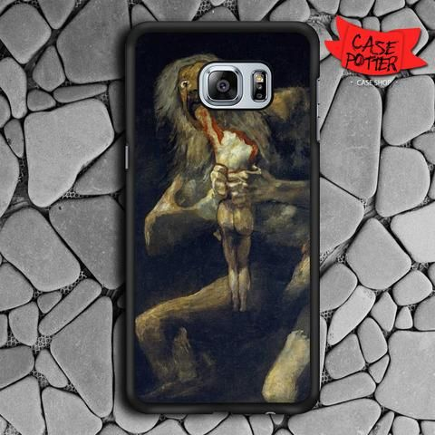 Goya Saturn His Son Samsung Galaxy S7 Edge Black Case