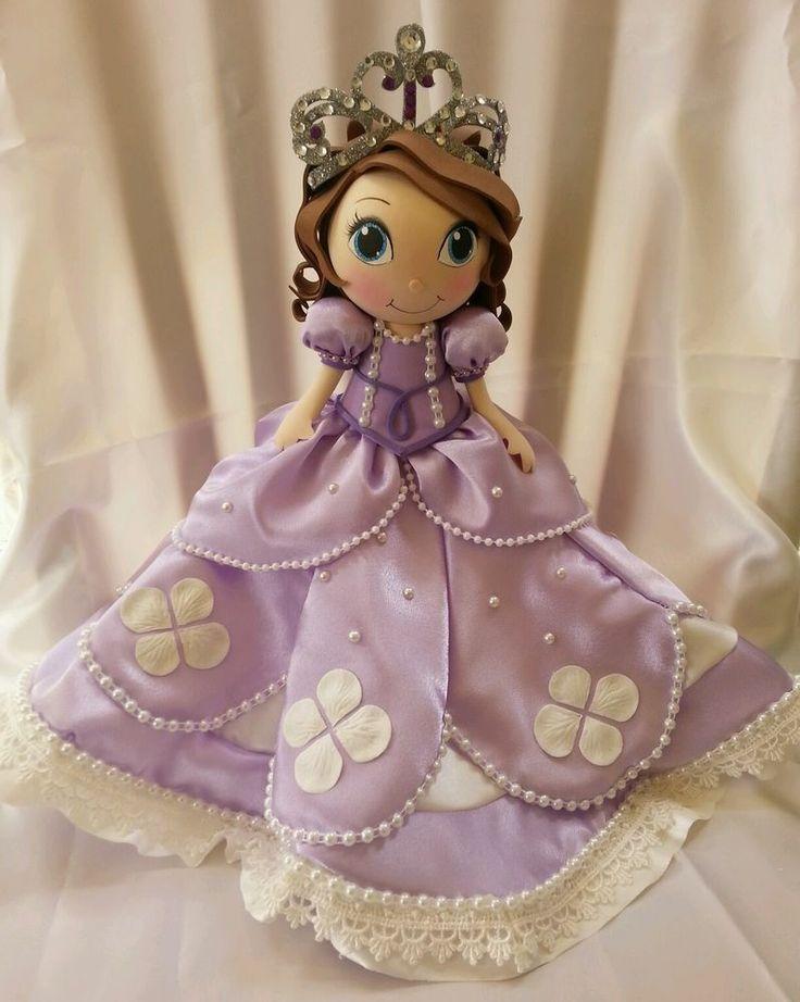 TWAG Rosa Disney Princess Sofia Fofucha doll fofuchas