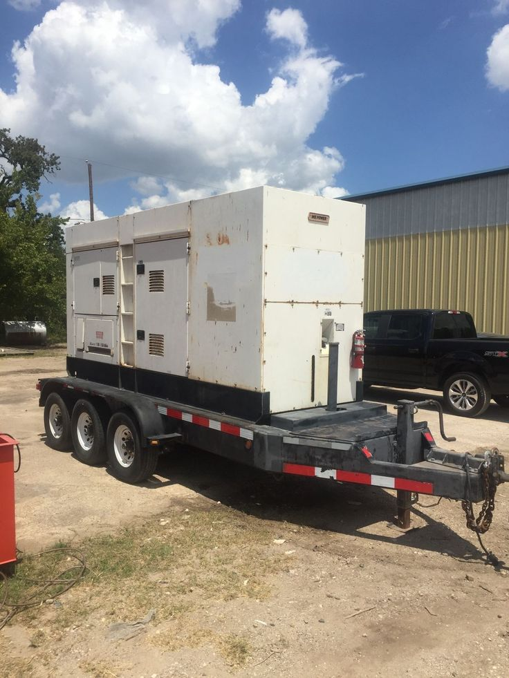 320kW Multiquip DCA400 Portable Diesel Generator. Tier 3. LB Tested