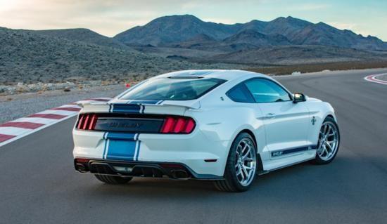 De nieuwe Shelby Mustang Super Snake heeft 750 pk