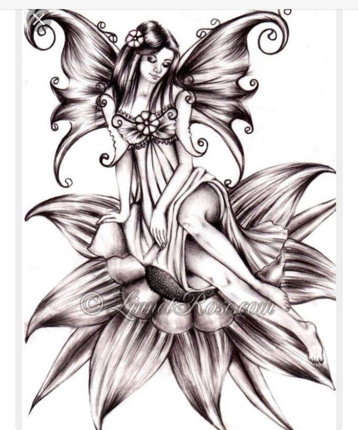 картинки татуировок феи делом