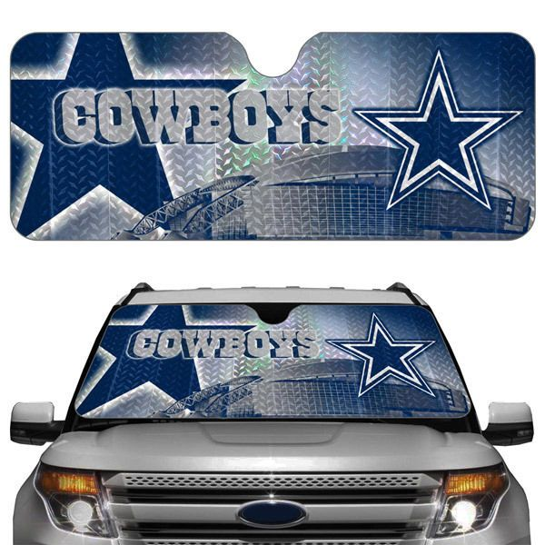 DALLAS COWBOYS NFL SPORTS LOGO AUTO SUN SHADE REFLECTOR #DallasCowboys