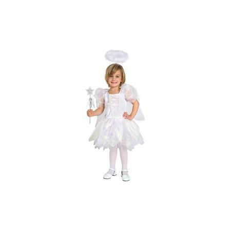 """Magic Time Маскарадный костюм для девочки """"Ангел"""", 4-6 лет  — 1249р.  Маскарадный костюм для девочки """"Ангел"""", 4-6 лет – это возможность превратить праздник в необычное, яркое шоу. Очаровательный карнавальный костюм «Ангел» позволит вашей малышке быть самой красивой девочкой на детском утреннике, маскараде или карнавале. В комплект входят платье, крылышки, палочка и ободок. Белоснежное платье выполнено из атласного материала и прозрачной органзы с красивыми переливами. Верхняя часть платья…"""