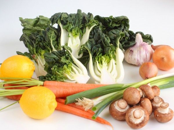 Baby Bok Choy goes well with: Cashews, carrots, ginger, garlic, bell ...