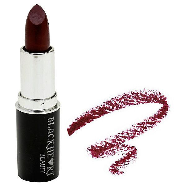 Blackheart Beauty Burgundy Matte Lipstick Hot Topic ❤ liked on Polyvore featuring costumes, white halloween costumes and white costumes