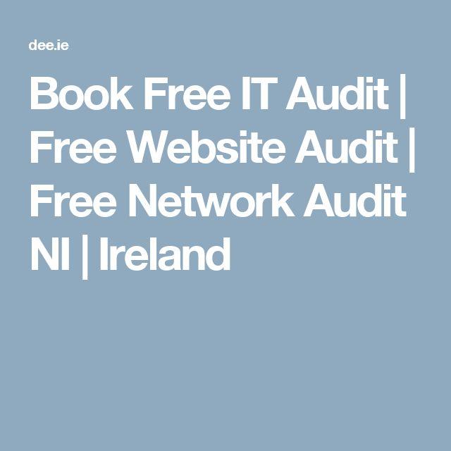 Book Free IT Audit | Free Website Audit | Free Network Audit NI | Ireland