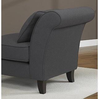 Steel Grey Slipper Chair from Overstock.com