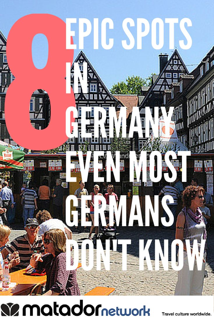 8 Epic Travel Spots in German Even Most Germans Don't Know. Bietigheim-Bissingen (also known as Bi-Bi) is just one of them. Make Germany your next travel destination and explore with MatadorNetwork.com