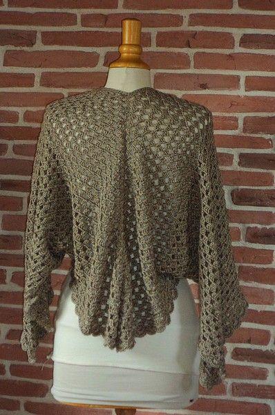 gilet duo magique half granny crochet facile r aliser tuto gratuit crochet tops pulls. Black Bedroom Furniture Sets. Home Design Ideas