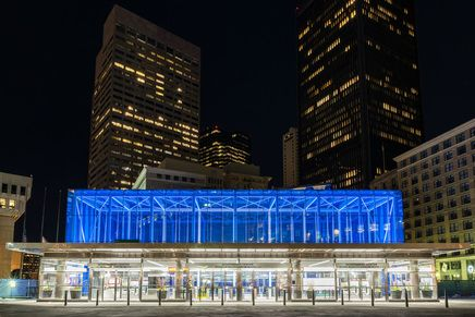 Government Center Station Boston Ma Lights Up Teal International Trigeminal Neuralgia Awareness Day October 7th, 2016!