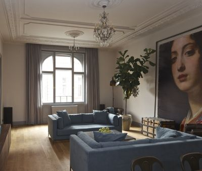 Krudy Luxury Apartment Budapest - Lounge