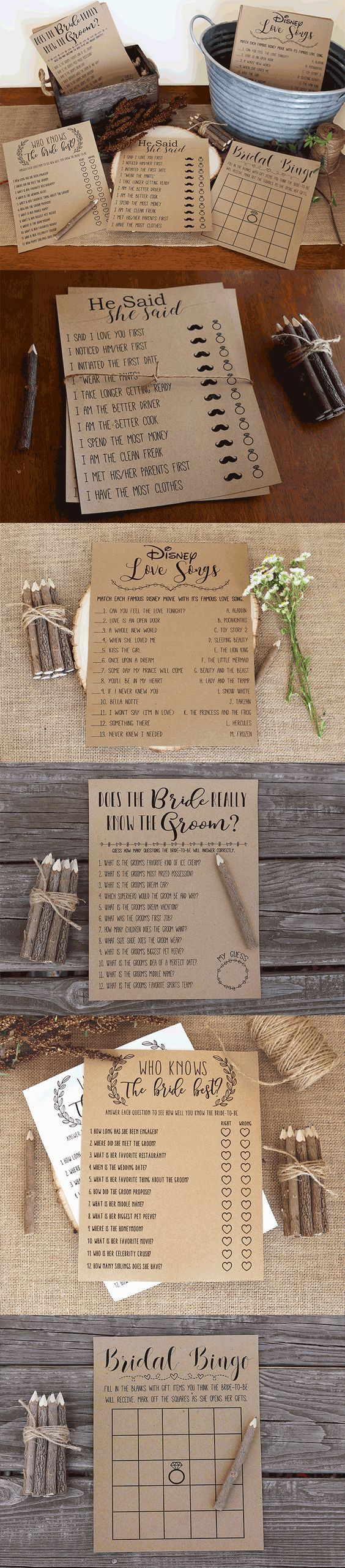 free printable bridal shower games how well do you know the bride%0A I like the   who knows the bride   game