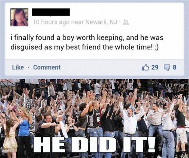 Billedresultat for made it outta the friend zone