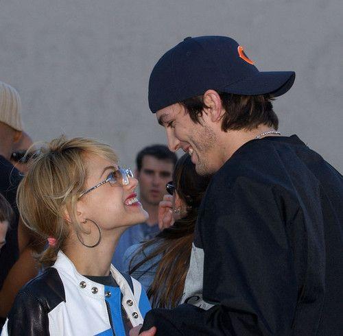 Brittany Murphy and Ashton Kutcher