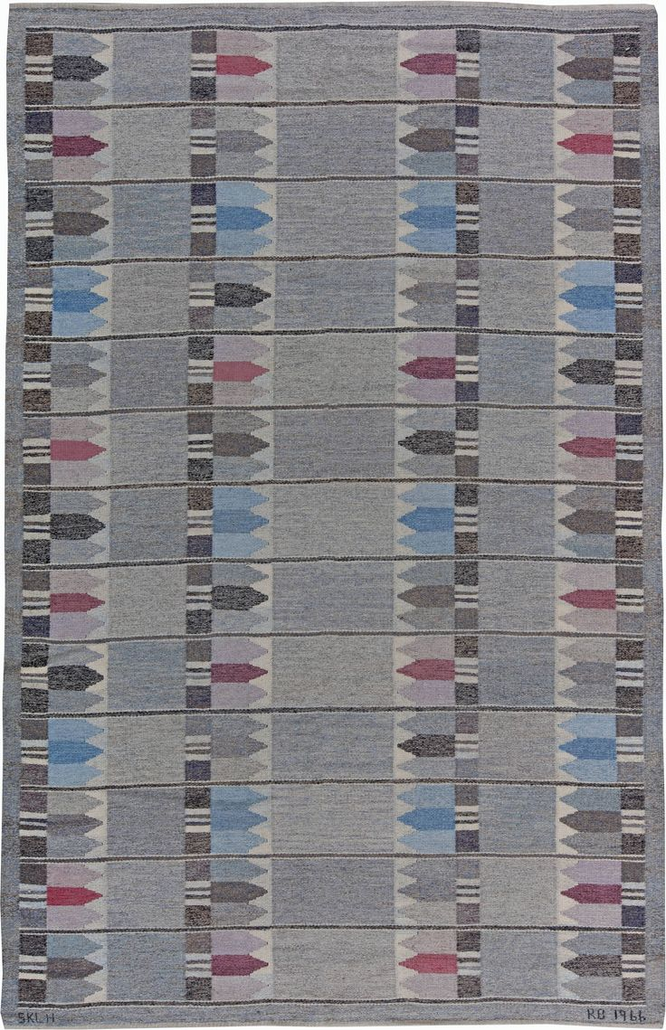 Vintage Rugs: Vintage Rug in red color Swedish Flat weave for Scandinavian scandi interior decor, Scandinavian living room  Vintage Swedish Rug by Kertin Butler