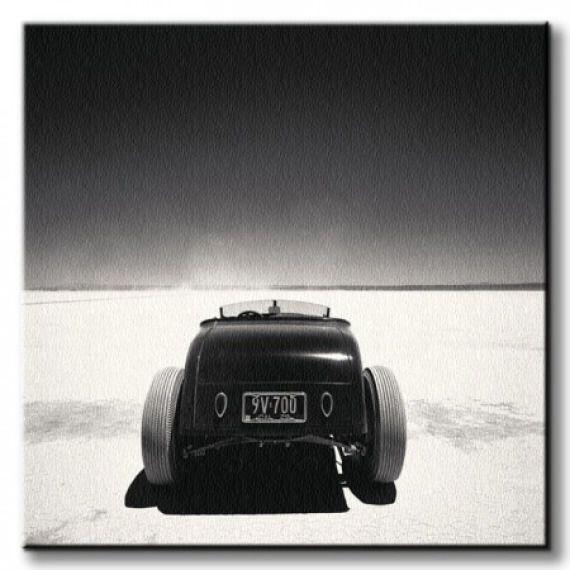 Roadster, Muroc - Obraz na płótnie