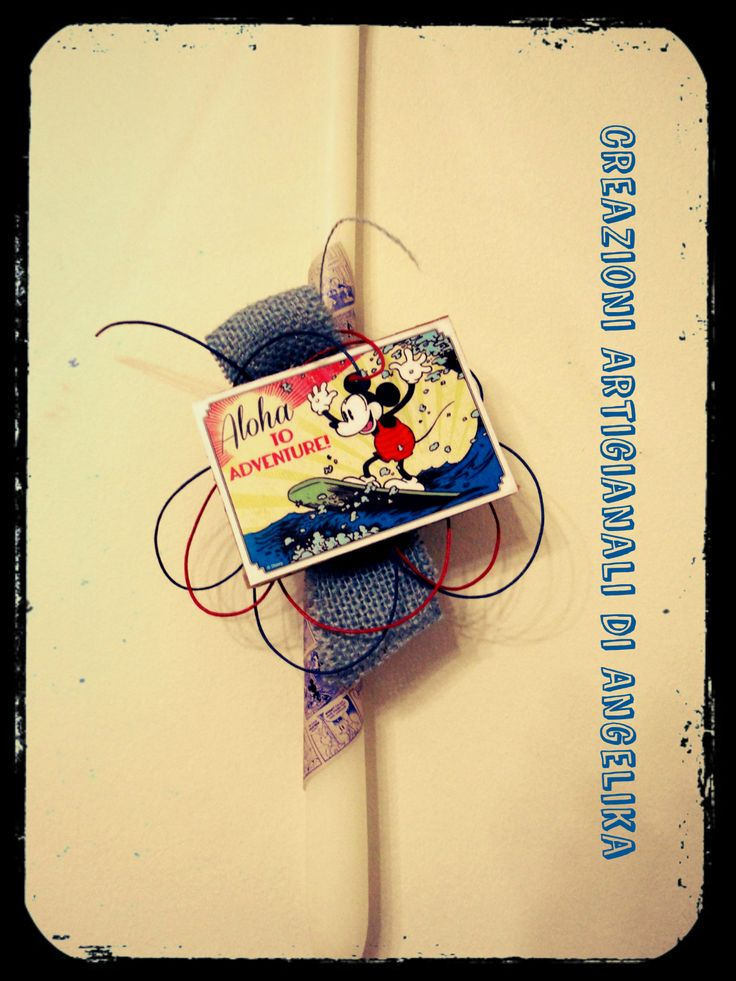 Easter Candle, Lampada, Λαμπάδα, Mickey Mouse (Eco Friendly)