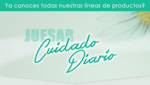 Queremos compartir con ustedes nuestras lineas de producto Juesar Cuidado Diario http://ow.ly/BRVar