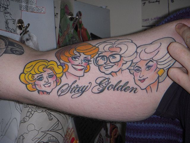 golden girls tattoo - Google Search