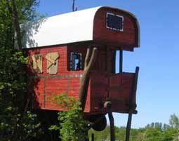 Außergewöhnlich Übernachten für Zwei Übernachtung im Baumhaus