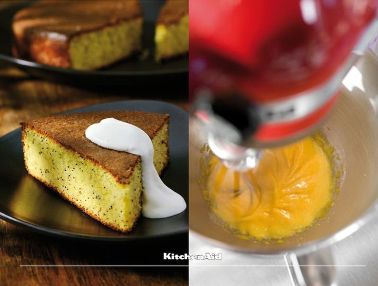 We just love this lemon and poppy seed cake. And what better way to make it than with our Artisan Stand Mixer. Much love KitchenAid Africa xx #WouldYouMakeThis #KitchenAidAfrica