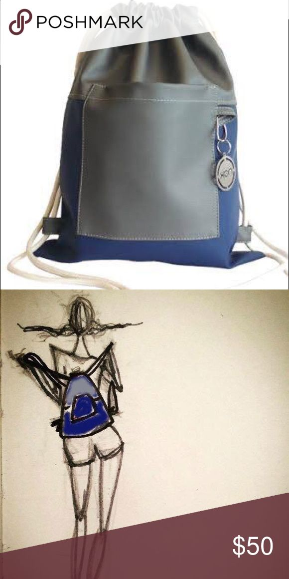 "New! Drawstring Bag / Faux leather Nox bags are made out of Faux leather and manufacturer in Lima/Peru. They are practical, comfortable and stylish. "" Exploring the city together"". Nox Bags Bags Backpacks"