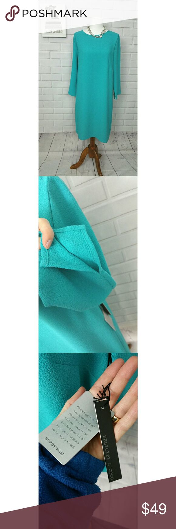 Design Define Stunning best 25 define stunning ideas on pinterest greek words and nwt felicity coco teal sheath crepe dress med beautiful turquoise blue dress