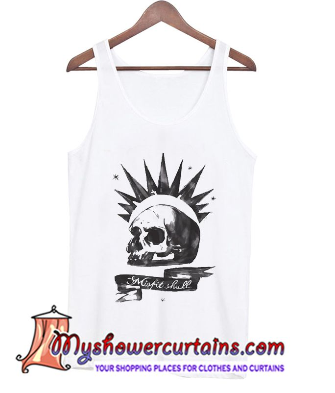 About Misfit Skull Tanktop from myshowercurtains.com This Dream catcher tanktop is Made To Order, we print the one by one so we can control the quality.