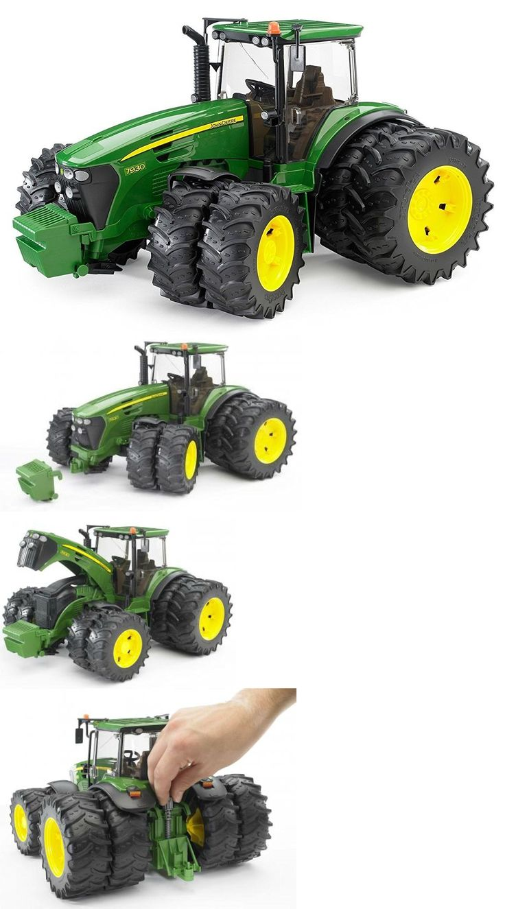 Contemporary Manufacture 156623: Bruder Toys John Deere 7930 Tractor With Double Wheels 09808 New -> BUY IT NOW ONLY: $54 on eBay!