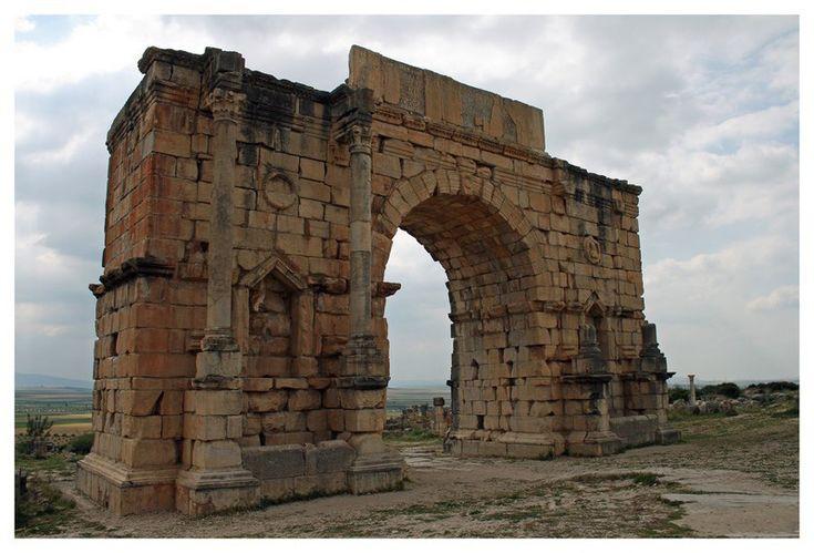 L'arc de triomphe - Volubilis, Meknes