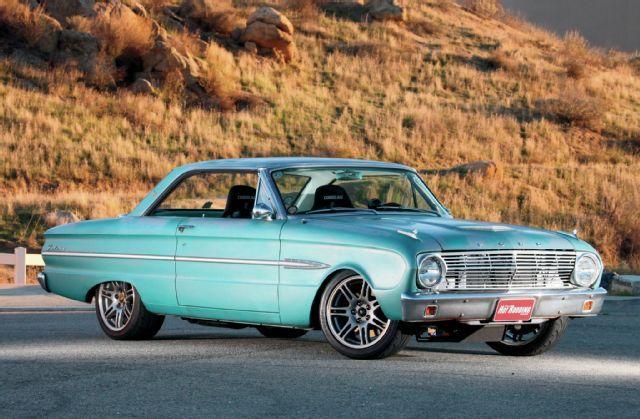 1963 Ford Falcon Futura Side Profile