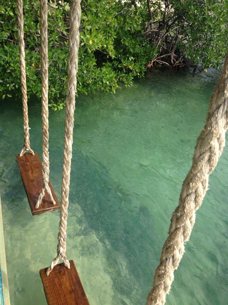 Water swing at little french key