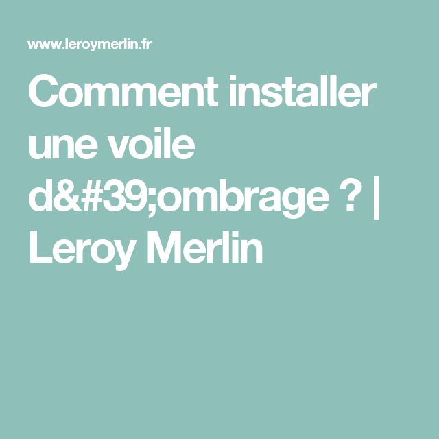 1000 ideas about leroy merlin jardin on pinterest dalle pour terrasse bois leroy merlin and - Prieel tuin leroy merlin ...