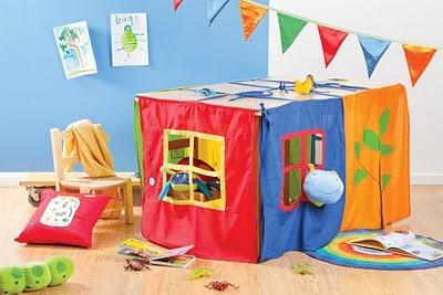 table cubby house