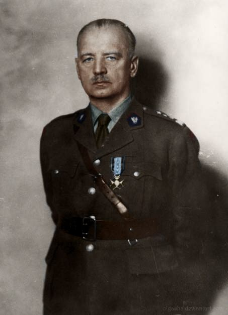 General Władysław Sikorski (1881-1943), Polish military and political leader. During World War II he became Prime Minister of the Polish Government in Exile, Commander-in-Chief of the Polish Armed Forces.