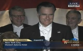 Romney Roasts President Obama, Himself At The Al Smith Dinner | Mediaite