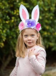 Craft the perfect accessory to wear on Easter.