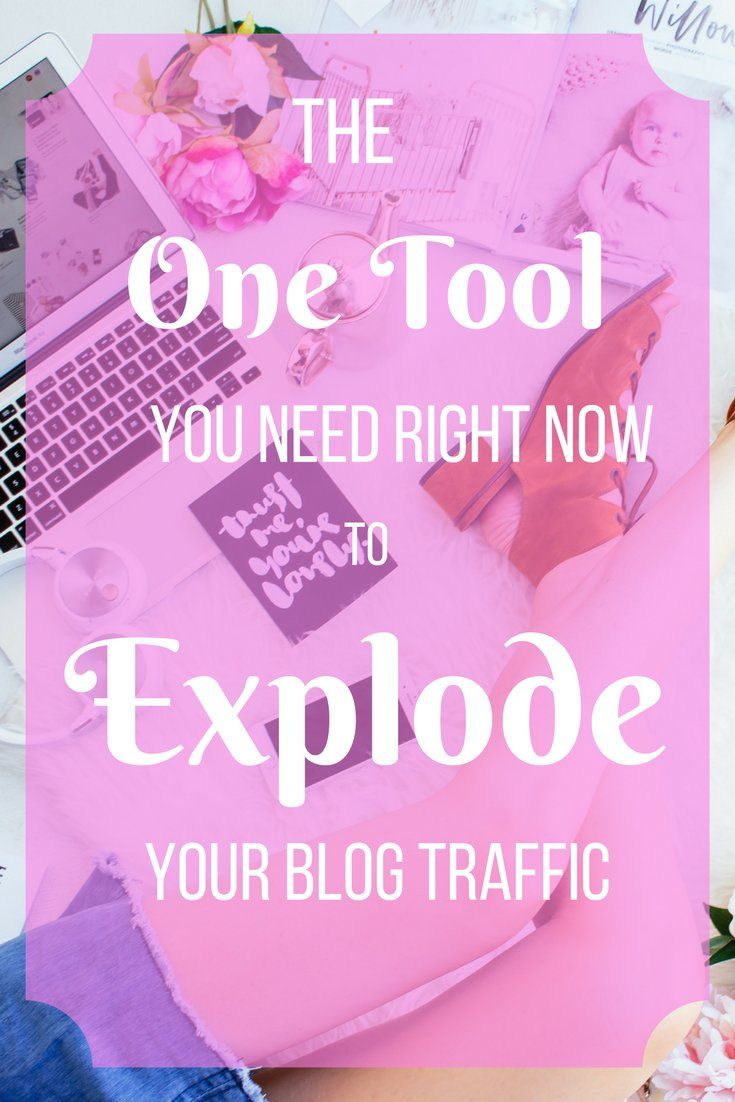 Reach your blog traffic goals faster with this quick and easy way to promote your blog posts, track your blog traffic, and grow your website in no time.