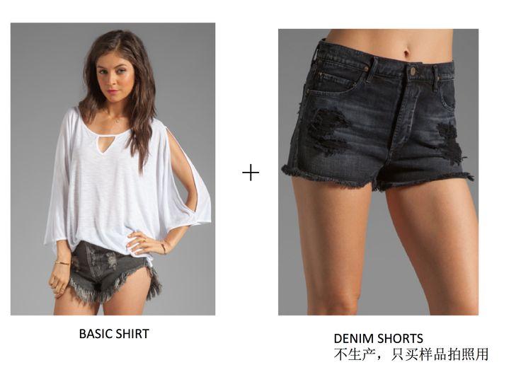 New Phoenix Cape+Jeans Chloe Cut Off Short