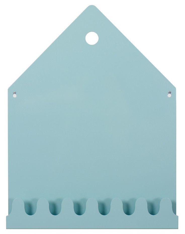 <p>Oneindig veel mogelijkheden met dit magneetbord Villa van Roommate. Gebruik het in de keuken en hang je theedoeken aan de haken. Dankzij de diepte kun je er zelfs een kookboek op kwijt. <br />Past hij beter op de kinderkamer, dan dient hij ook als kapstok.<br />Het magneetbord is gemaakt van metaal en heeft 7 haken.</p>