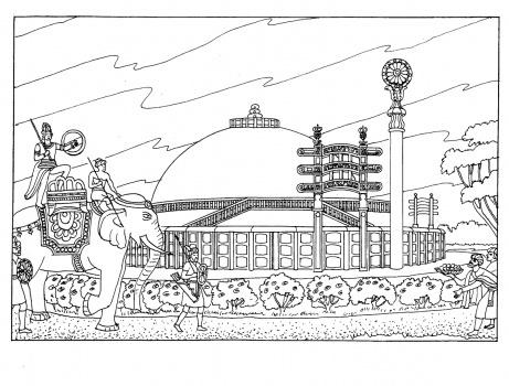 daruma doll coloring pages - photo#31