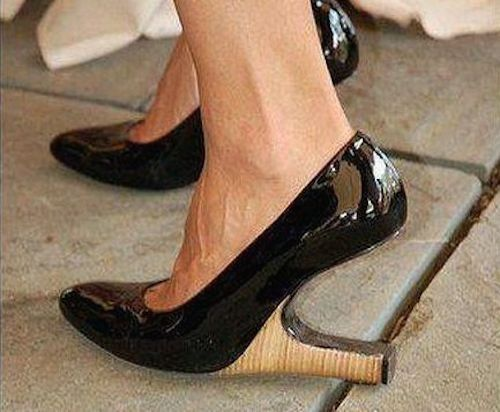 Bizarre Placement : 15 Bizarre-Looking Shoes Nobody Should Ever Wear | TOAT