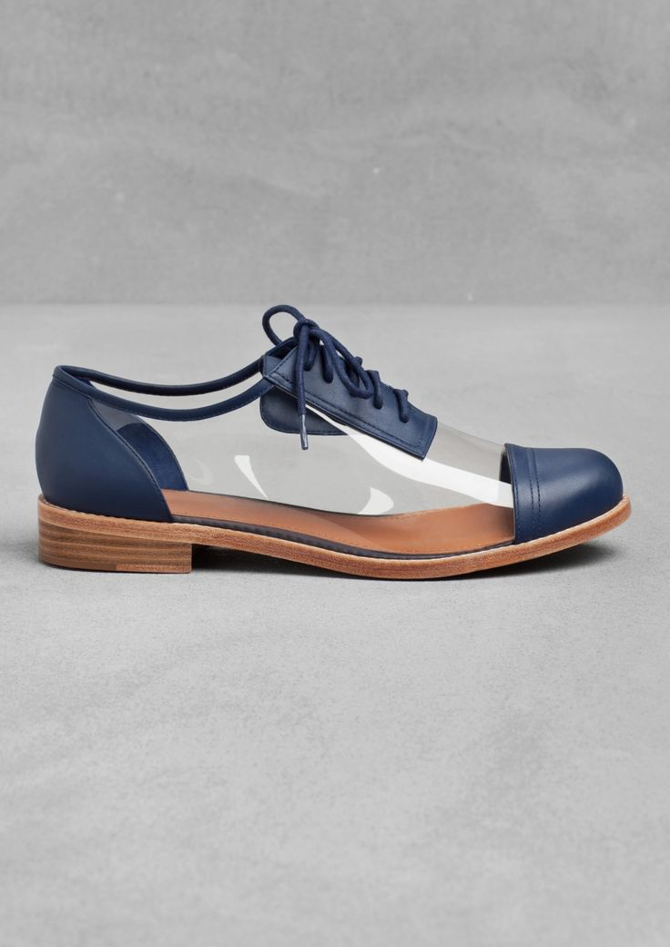 Not sure how a see-through Oxford looks with feet in them, but I'm loving the concept! #menswear #fashion #shoes