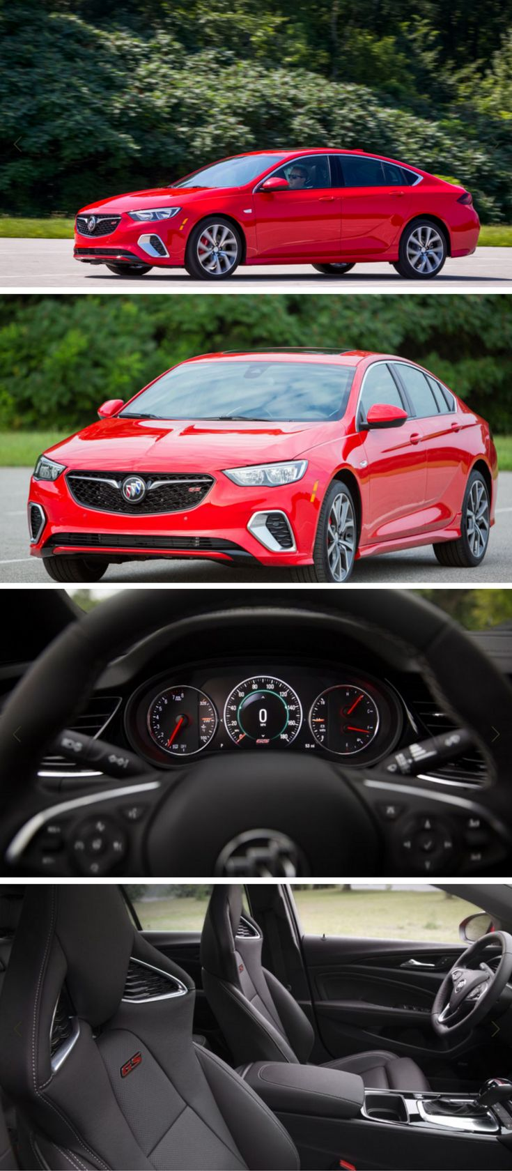 The 2018 buick regal gs debuts with 310 horsepower and all wheel drive