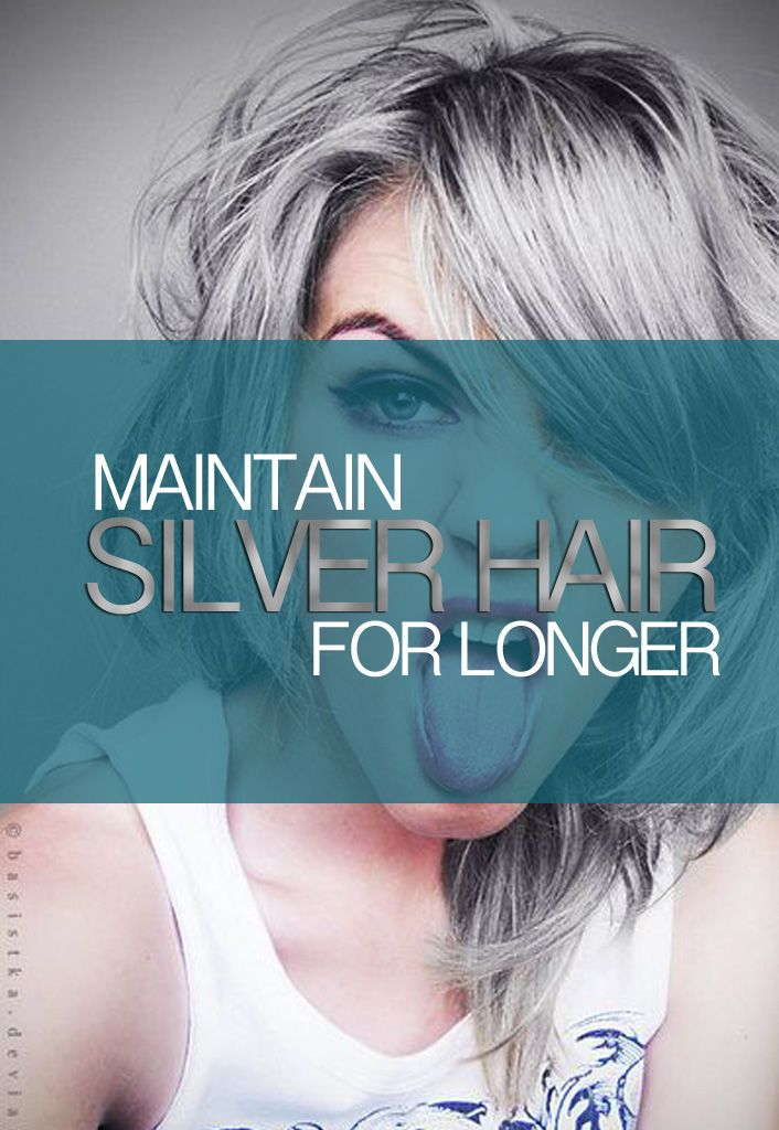 How to maintain your #SilverHair for longer! #YES  SugarSkullLife.com