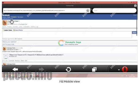 Facebook Login Home Page Desktop
