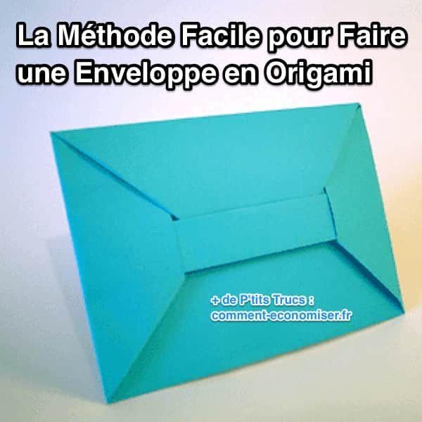 Et oui, il existe une méthode simple pour fabriquer une enveloppe à partir d'une simple feuille de papier. Et ce SANS ciseaux ni colle ! Je suis sûr que vous et vos enfants, vous allez adorer. Prêt à essayer ?  Découvrez l'astuce ici : http://www.comment-economiser.fr/methode-facile-pour-faire-enveloppe-en-origami.html?utm_content=buffer6a1e4&utm_medium=social&utm_source=pinterest.com&utm_campaign=buffer