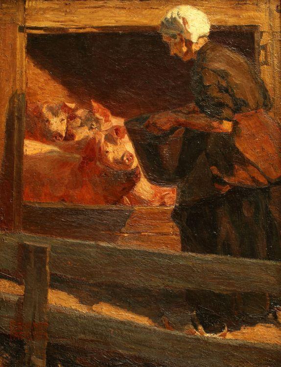 La comida de los cerdos (1904)