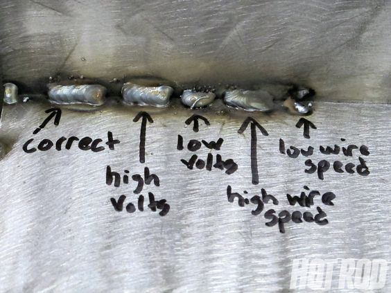 troubleshoot your welds // MIG arc welding guide: